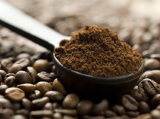 кофе для чистки кошелька