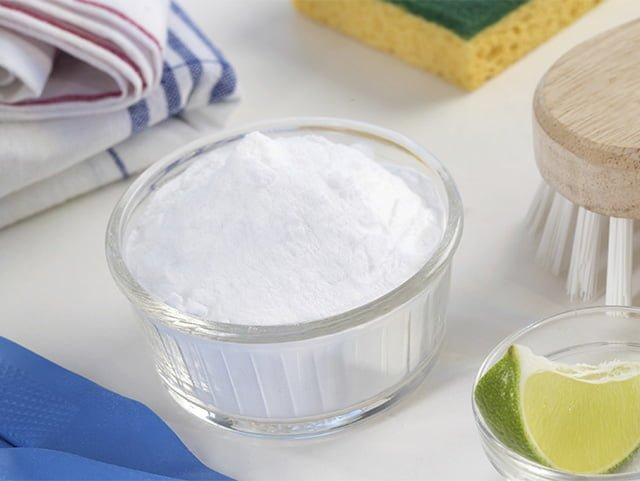 сода для чистки пластмассы
