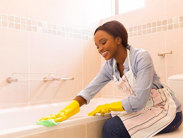ткань для чистки акриловой ванны