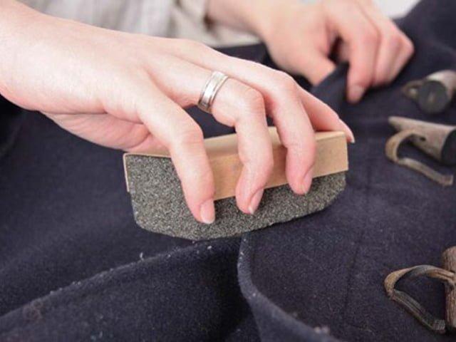 щетка для чистки кашемирового пальто