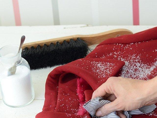средства для чистки пальто из шерсти