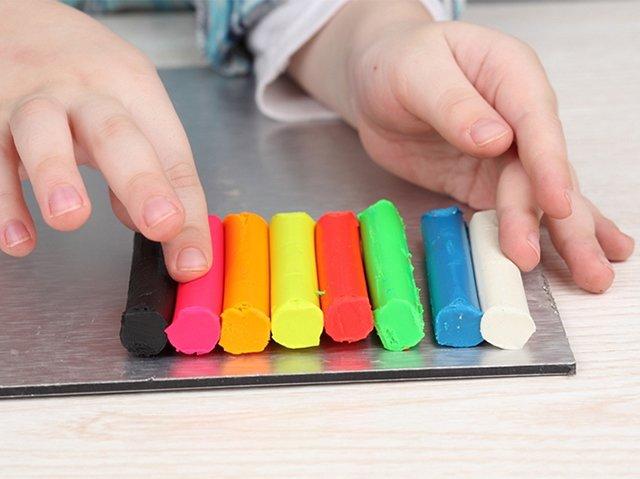 разноцветный пластилин для лепки