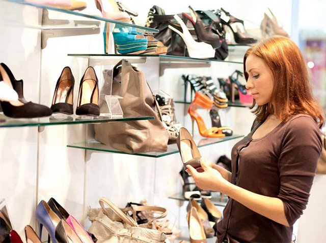 замена обуви в магазине
