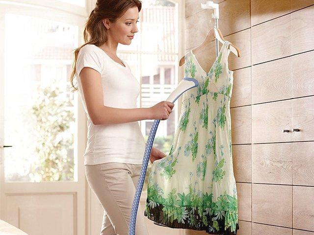 отпариватель для шифонового платья