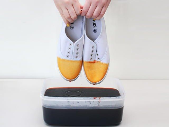 краска для белой обуви