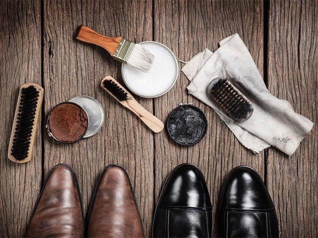 средства для ухода за лаковыми ботинками