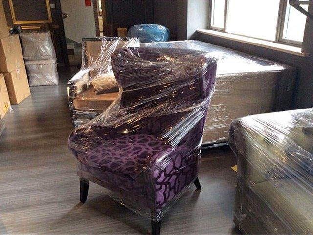 пленка для защиты мягкой мебели от строительной пыли