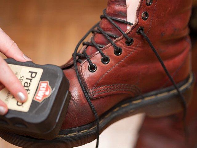 крем-губка киви для обуви