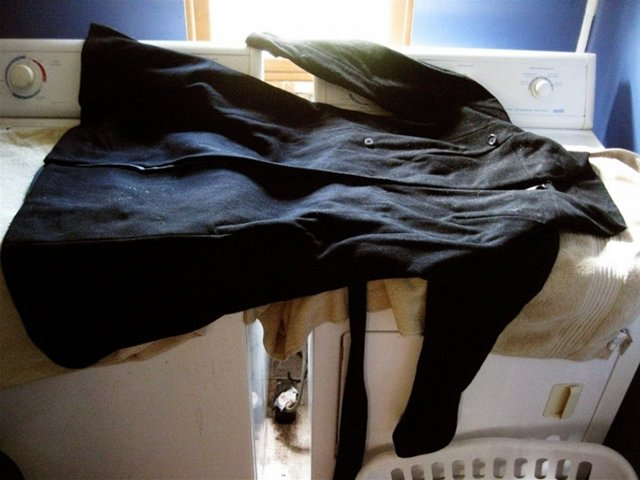 сушка пальто из кашемира