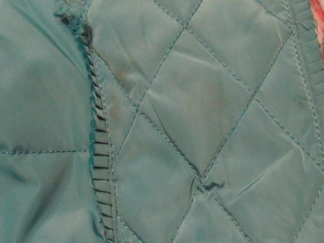 чистка пятен на плащевой куртке