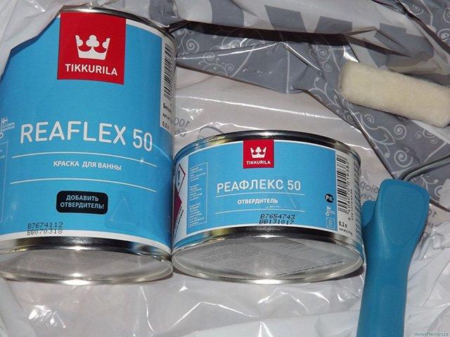 краска для восстановления ванны