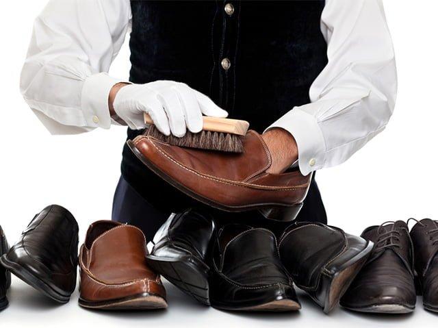 уход за мужской обувью
