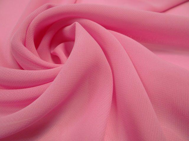 розовый шифон