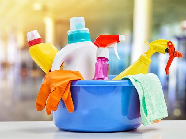 средства для уборки в квартире
