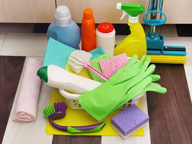 вещи для уборки в доме