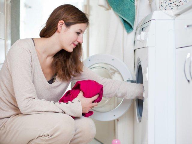стирка одежды в стиральной машине