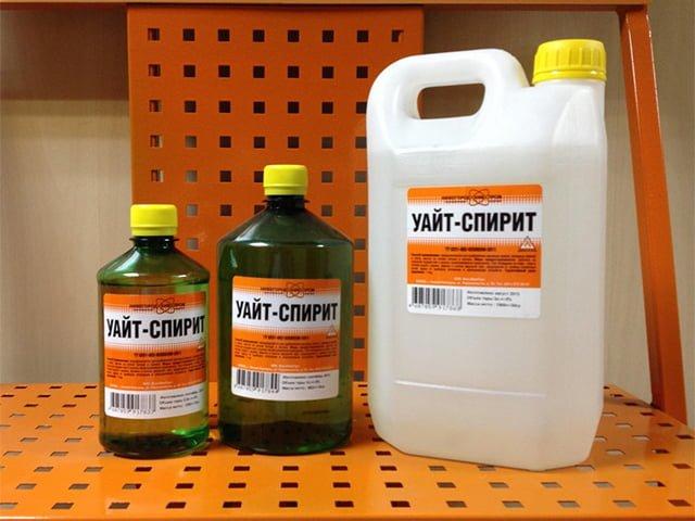 уайт спирит для очистки плитки на полу и в ванной