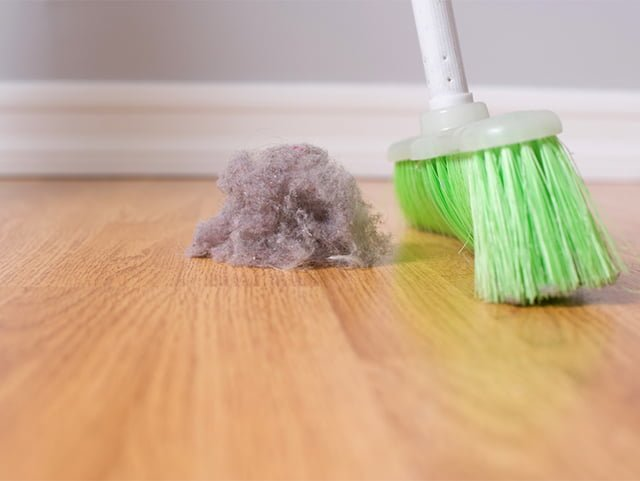 уборка грязи в квартире
