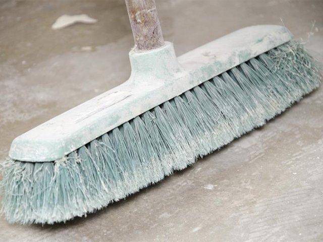 уборка строительной пыли