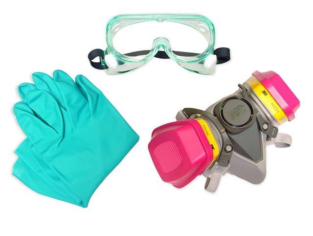защитные средства для работы с кислотами