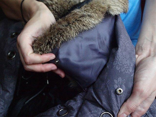 взбивание пуха в куртке