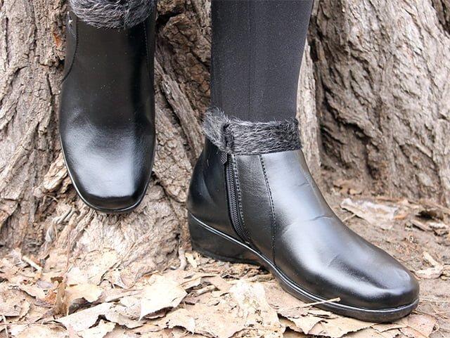 молния на обуви