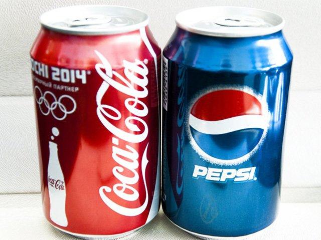 кока-кола и пепси