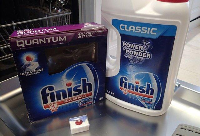 средства для мытья посуды в посудомоечной машине