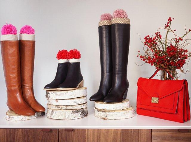 хранение обуви вне сезона