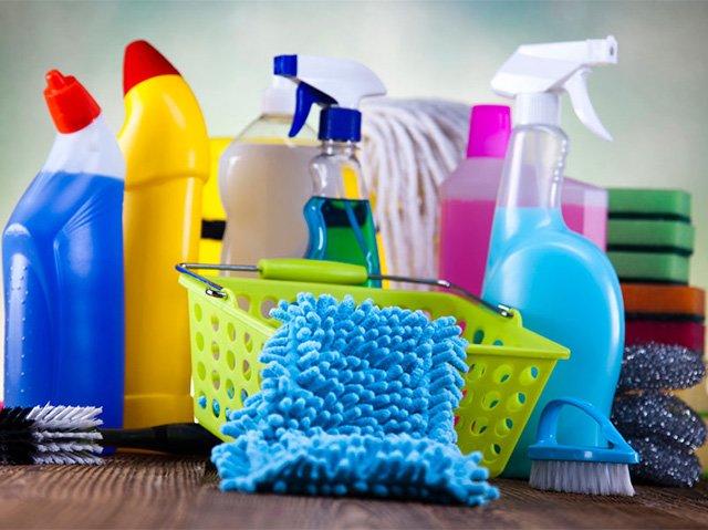 моющие средства для ухода за домом