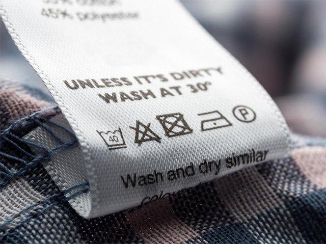 правила стирки одежды