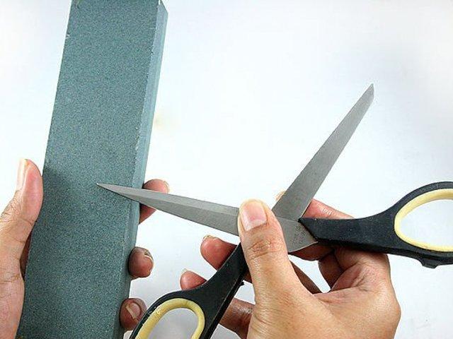 оселок для заточки ножниц