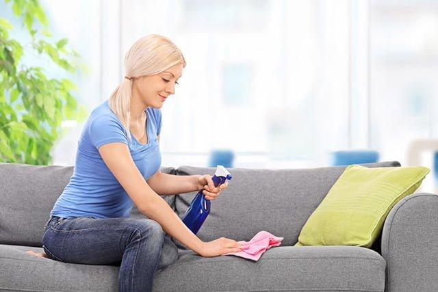уход за диваном в домашних условиях
