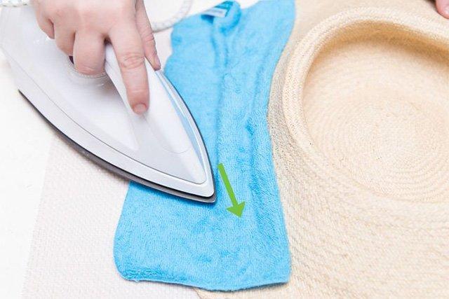 уход за соломенной шляпой