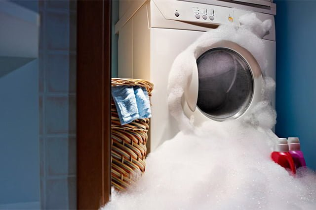 мыльная пена в стиральной машине