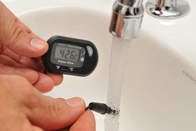 замер горячей воды