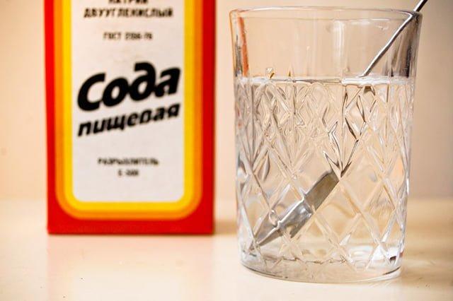 сода для стирки в стиральной машине