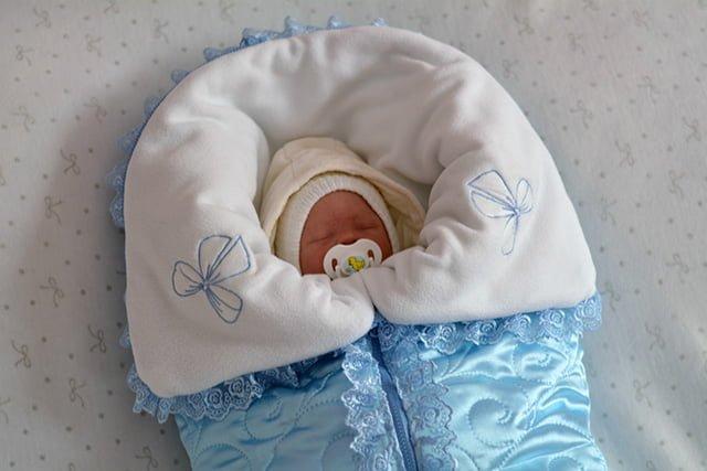 конверт на выписку для новорожденного