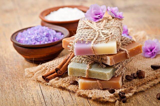 мыло из натуральных компонентов