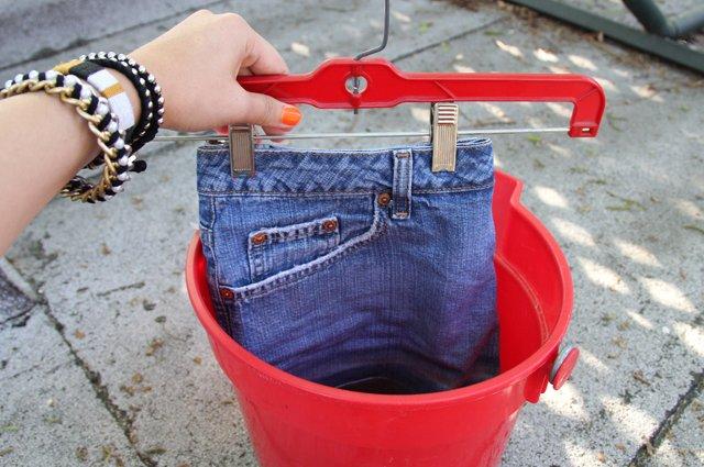 стильные джинсы в домашних условиях