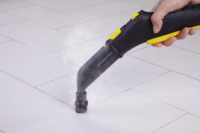 чистка керамической плитки