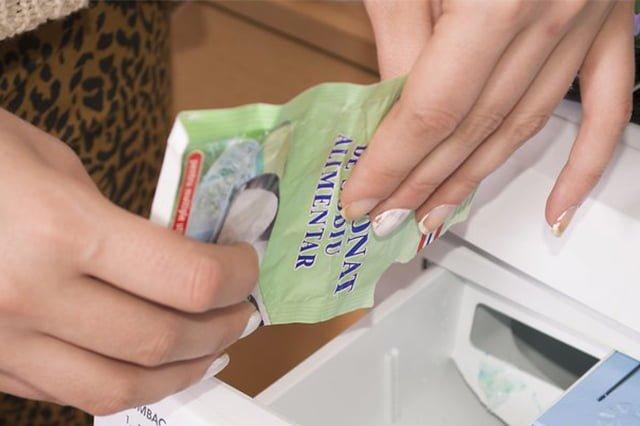 сода для стирки белых вещей в стиральной машине