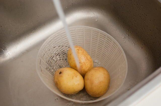 обработка картофеля перед приготовлением