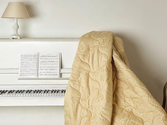 вид шерстяного одеяла