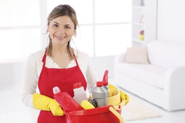 инвентарь для уборки в квартире