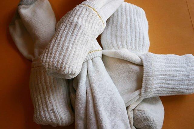 способ хранения носков