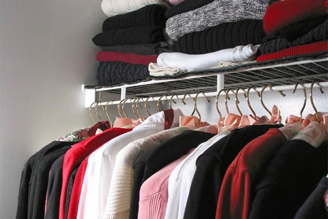 хранение кофт и свитеров