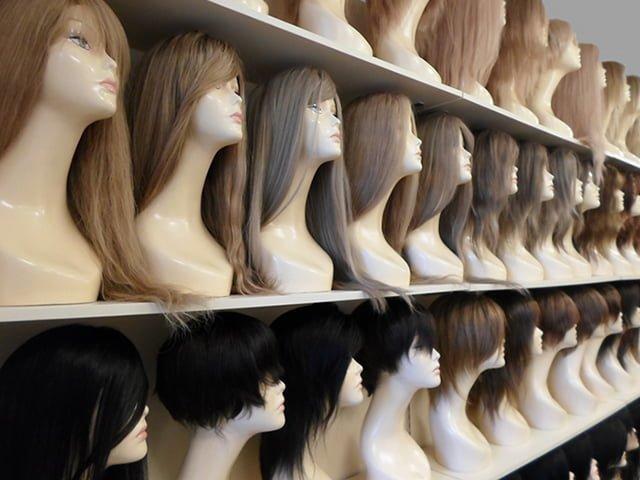 манекены с натуральными волосами