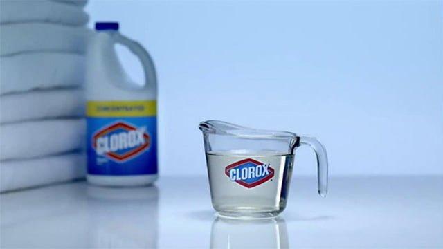 средство с хлором для стирки