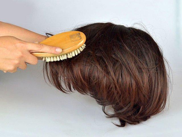 уход за париком из искусственных волос